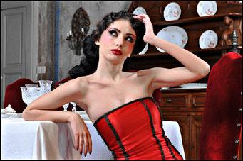 Valentina C. Foto per Gothic Time.com III SERIE 2