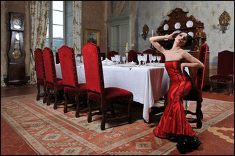 Valentina Caruso Foto per Gothic Time.com III SERIE 1