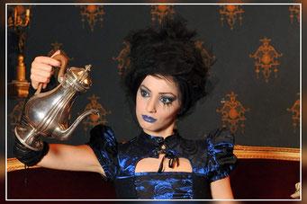 Valentina C. Foto per Gothic Time.com II SERIE 3