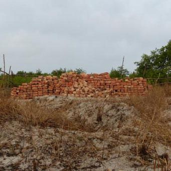 Backsteine für die Mauern