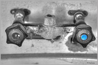 Hygiene ist das Gebot der Stunde! Blau