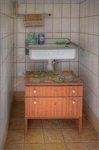 Hygiene ist das Gebot der Stunde Waschnische