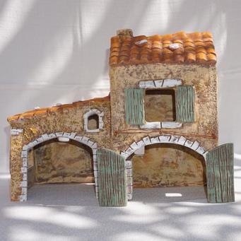 Maison avec cheminée