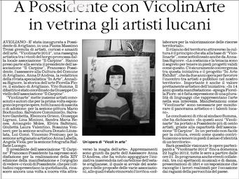 Il Quotidiano della Basilicata, 22 luglio 2012