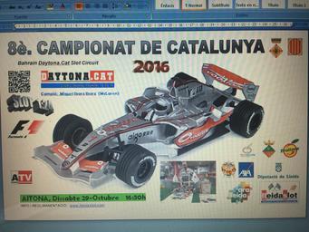 F1 CAT 2016 - Campió MIQUEL IBARZ IBARZ