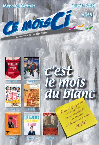 Janvier 2014 - n° 58