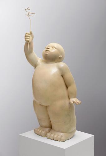Ofrenda               -                bronce             -               140x50x50cm.