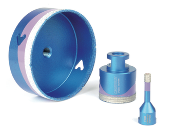 MONTOLIT speciale boren tot en met diktes van 20 mm