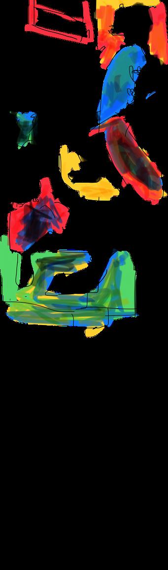 """Termoclino Robert (""""Pifferari"""" davanti a una madonna) digital drawing"""