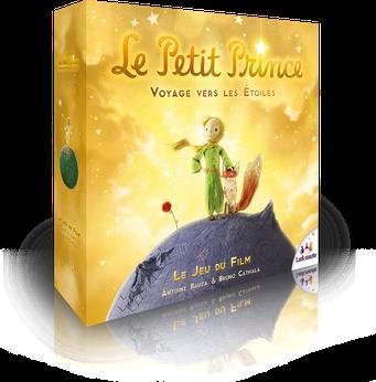 Le Petit Prince, voyage vers les étoiles, édité par Ludonaute, basé sur le Petit Prince