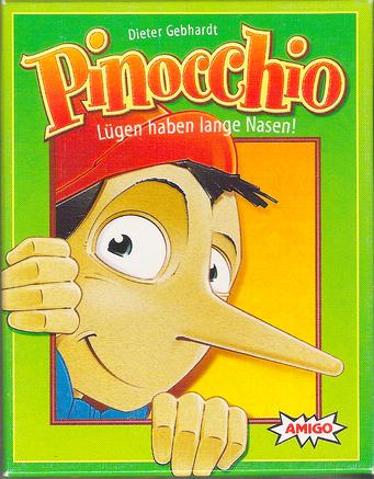 Pinocchio, édité par Amigo, basé sur Piococchio