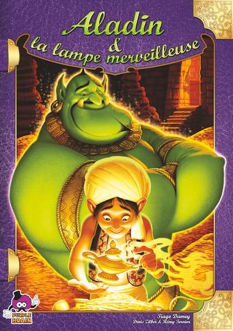 Aladin et la lampe merveilleuse, bientôt édité par Purple Brain, basé sur Aladin