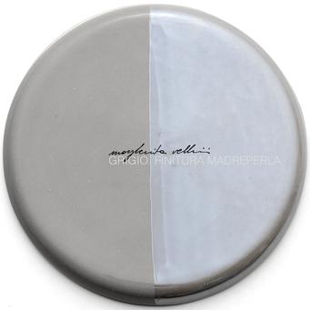 Campione colore GRIGIO e FINITURA MADREPERLA Margherita Vellini  - Lampade in ceramica  - Home Lighting Design