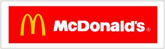 多摩のマクドナルドポスティング