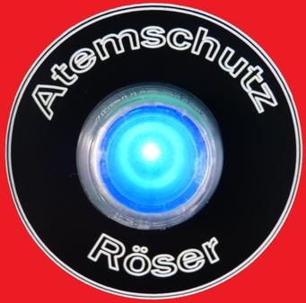 Maskentrockner MTS 1860 Color Ein-Aus Schalter rot