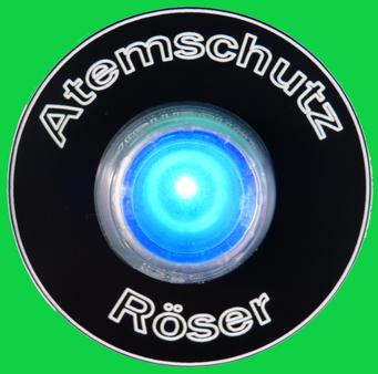 Maskentrockner MTS 1860 Color Ein-Aus Schalter grün