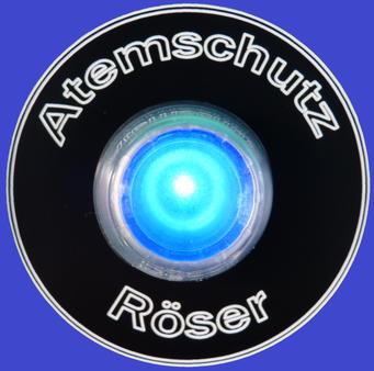 Maskentrockenschrank MTS 1860 Color Ein-Aus Schalter blau