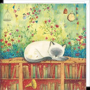 Carte double illustrée par Jehanne WEYMAN