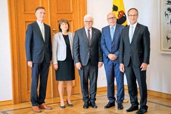 Empfang beim Bundespräsidenten zum Thema Integration und Rassismusangriffe 2018