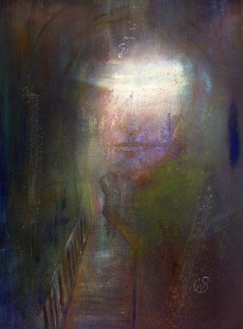 BDL 18/12, Öl auf Leinwand 100 x 70 cm /2018