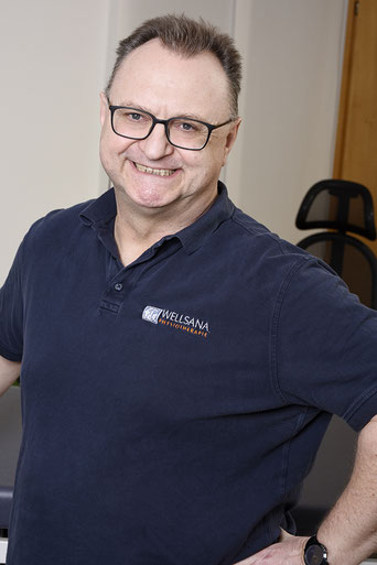 Ronald Winter. Diplom Physiotherapeut Basel, Dipl. med. Masseur und Lymphtherapeut Basel, Wellsana Physiotherapie Basel