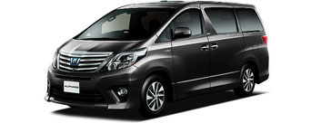 Alphard Hire Car in Japan