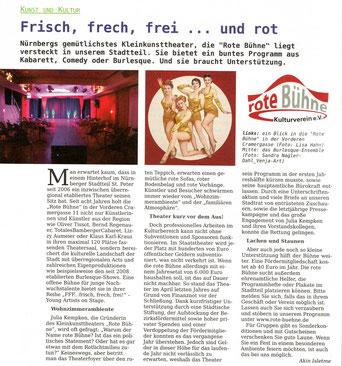 Der Peter (Stadtteilzeitung Gleißhammer/St. Peter) Ausgabe 1, Sommer 2014
