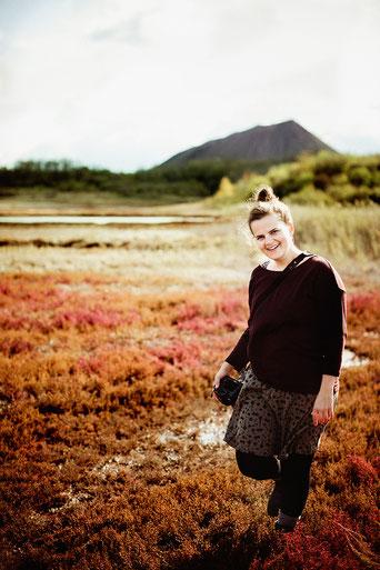 Fotografin Eva Kohlweyer Portrait in der Natur