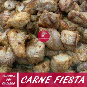 Carne fiesta por encargo en Tenerife - Comidas La Sabrosa