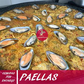 Paellas por encargo en Tenerife - Comidas La Sabrosa