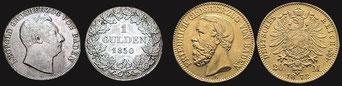 Gulden und Goldmark im Badischen Großherzogtum