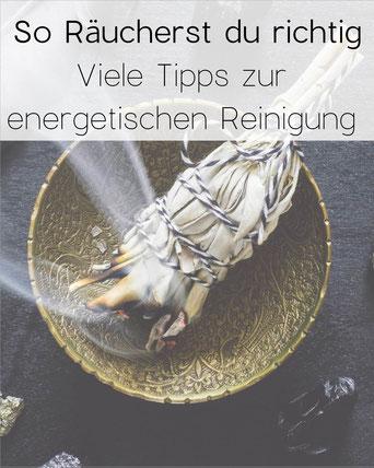 grafik und Foto zur Energetischen Räucherung