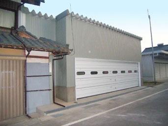 N邸車庫増築工事
