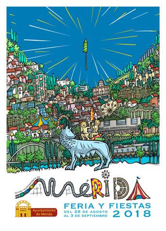 Feria y Fiestas de Mérida 2016