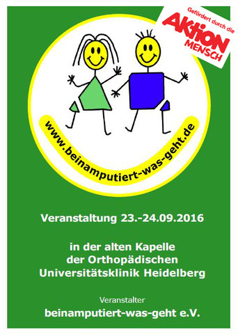 September Event 2016 beinamputiert-was-geht e.V.