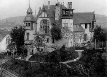 dudweiler, saarbruecken, villa micka, heinrich micka, 1910