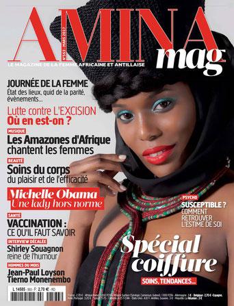 Amina mag  parle du voyant africain Rajak