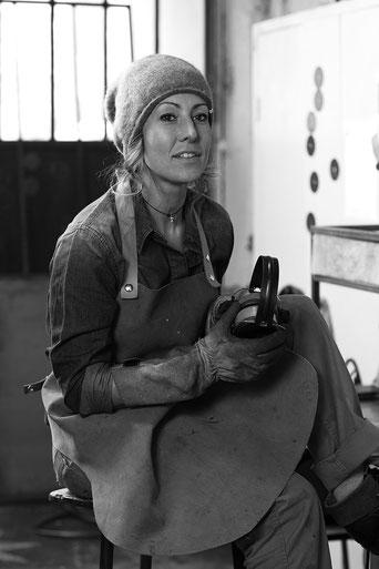 Atelier Emi drapier verrière d'atelier acier Lyon rhône  mobilier metal