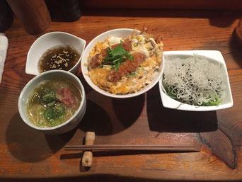 海老丼定食