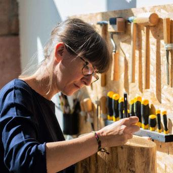 Atelier Marlène Vidal tapissier d'ameublement Aveyron  Pruines Rodez