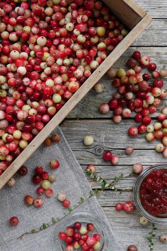 Moosbeeren - wir lieben saisonal