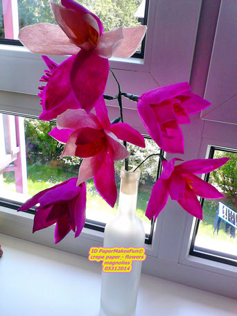 Magnolias - Crepe Paper