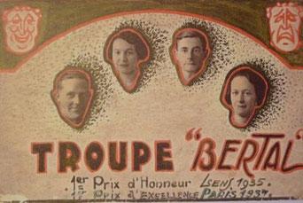 Troupe Bertal 1935 - Coll Quetron