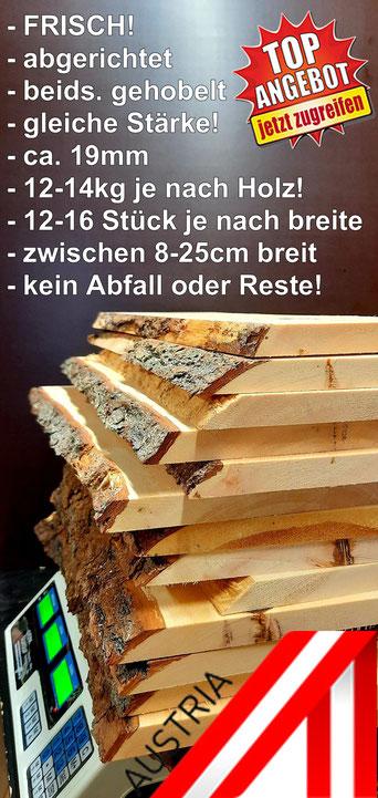 Zirbenholz Kaufen, Zirben Holz Bretter im Karton für den Versand!