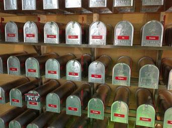Mailbox für Kunden von Signs USA Retro Metallschilder