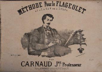 Carnaud - Méthode pour le flageolet