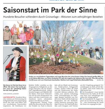 Leine-Nachrichten v. 06.04.2010