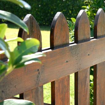 Vallas de madera para jardín en Tenerife