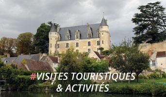 Vue de Montrésor, près de la Corroierie en Indre et Loire