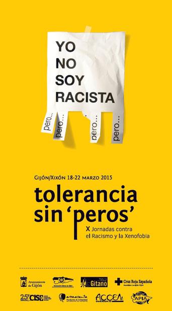 Imagen Anuncio de X Jornadas contra el Racismo y la Xenofobia